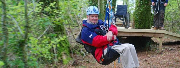 Calvert Trust – Low Ropes Course