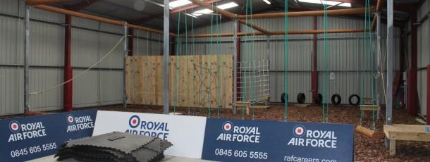 RAF indoor